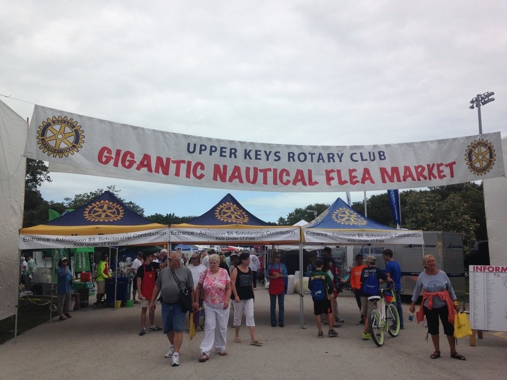 gigantic nautical flea market