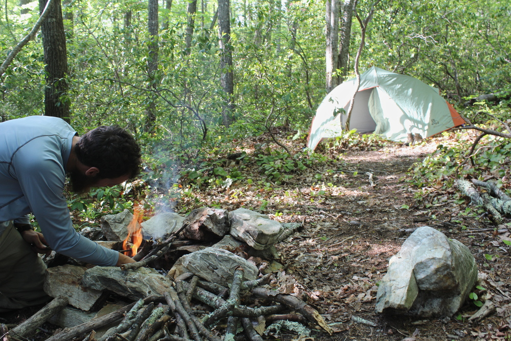 Camping in Linville Gorge