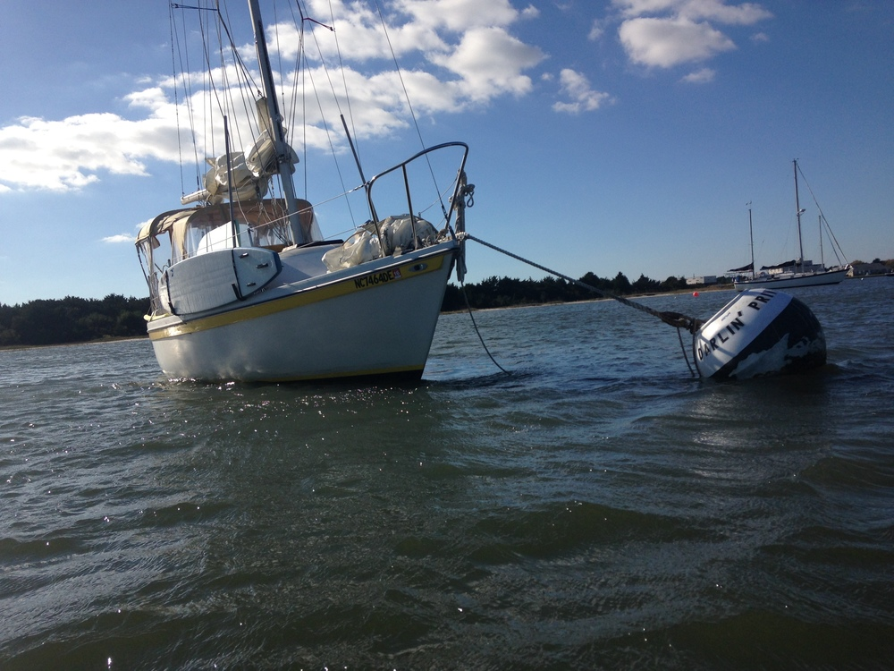 Sailing ICW