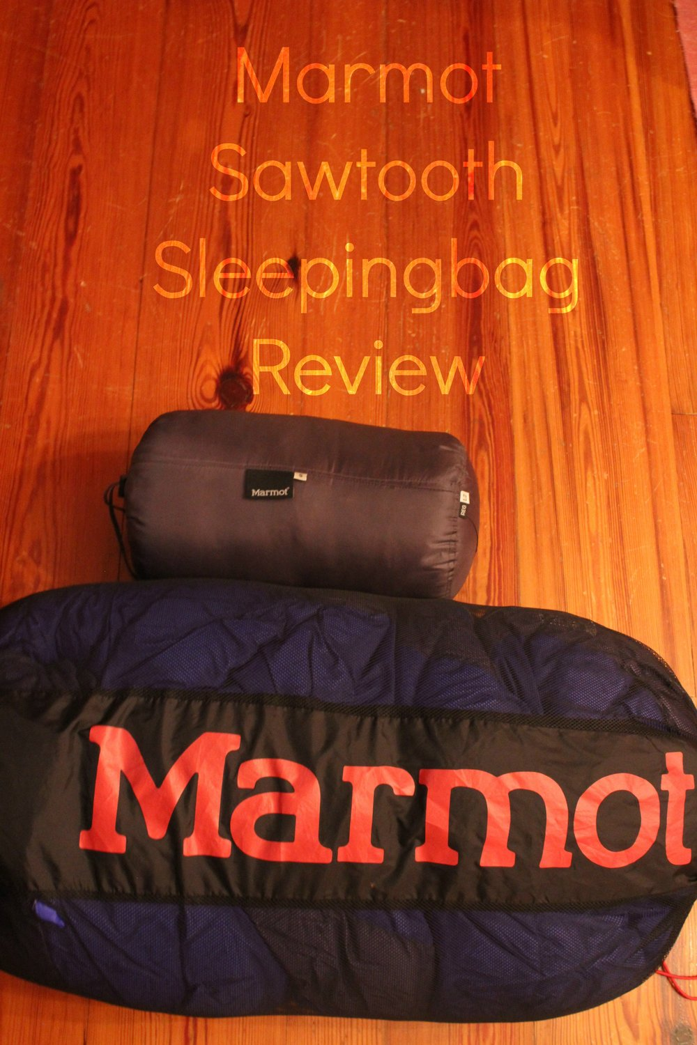 Backpacker sleeping bag