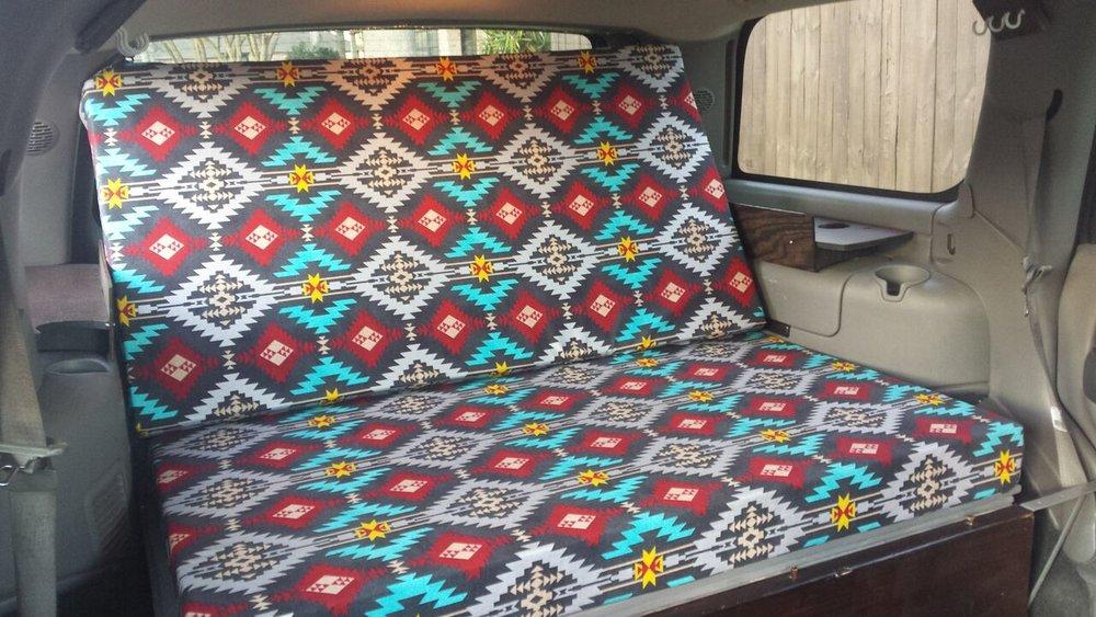 convert tahoe into camper