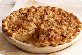 Apple Crumb Pie Recipe