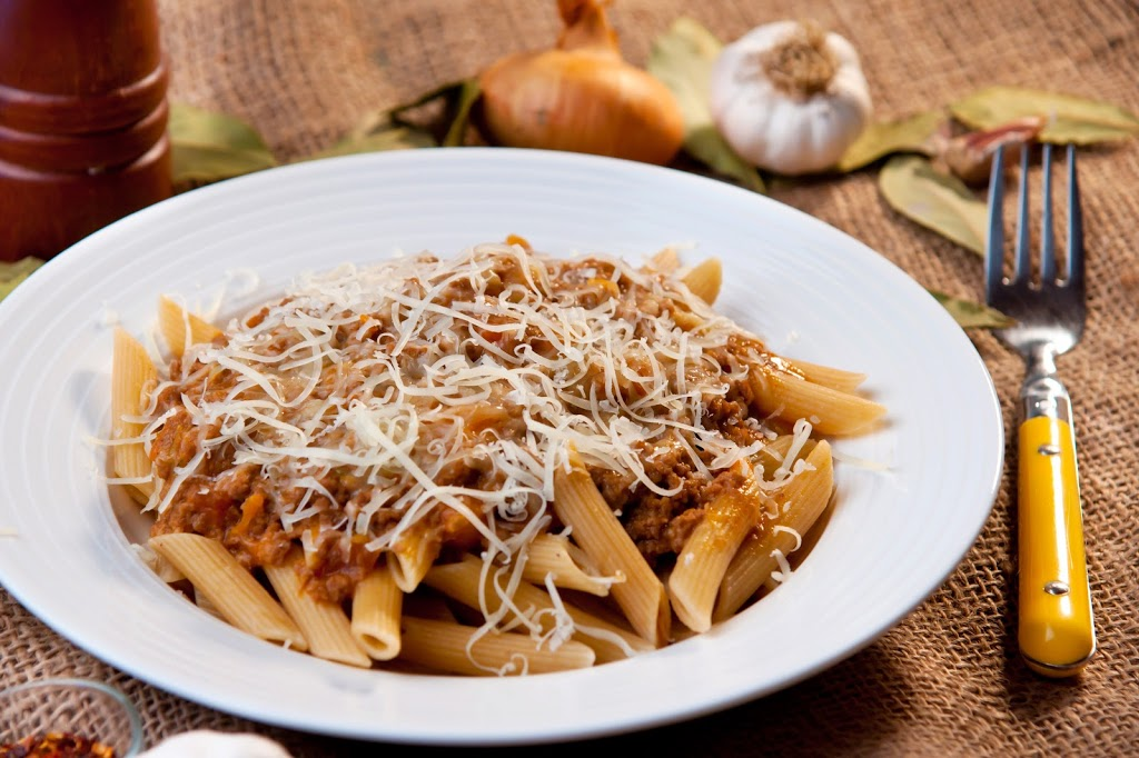 Cheesy Beef Penne