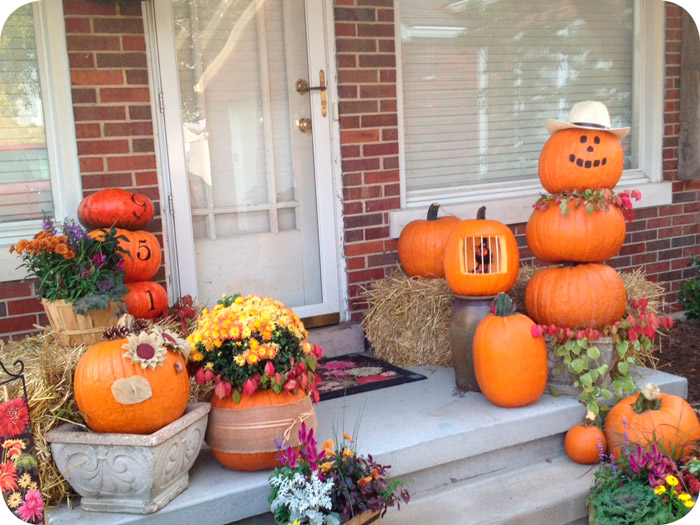 Fall Decorations & Pumpkin Decorating Ideas + Delicious Fall Treat u2014 Eckertu0027s Family ...