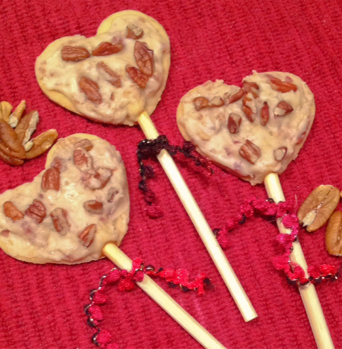 Maple Bacon Lollypops