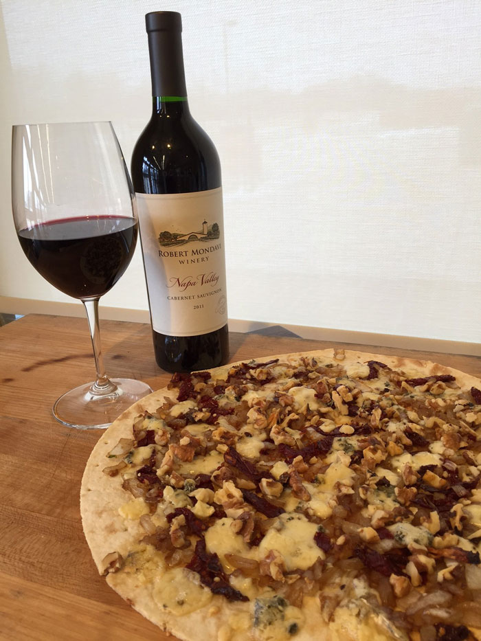 Robert Mondavi Pizza