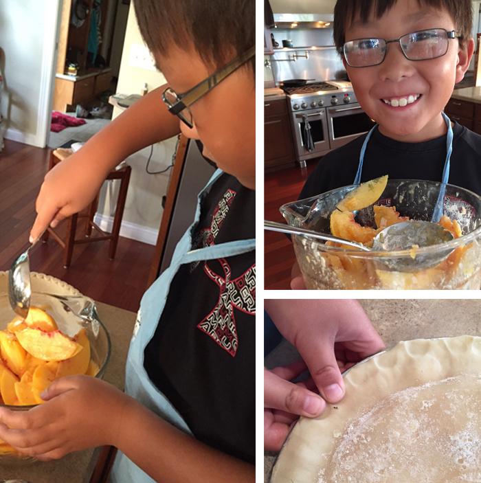 Peach Pie Prep