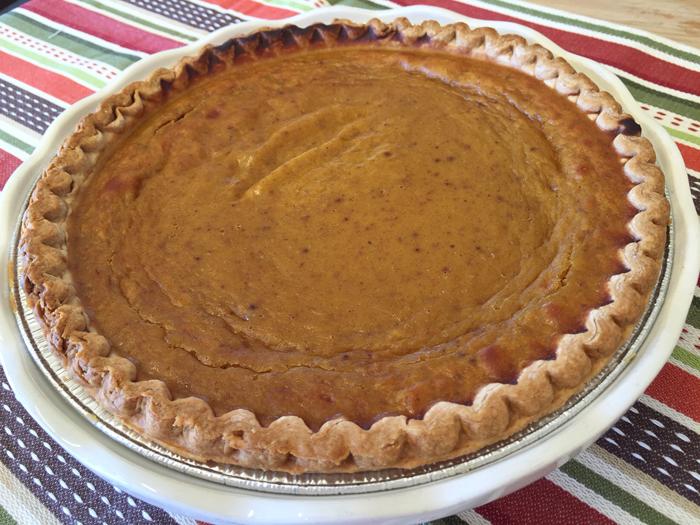 Eckert's Pumpkin Pie