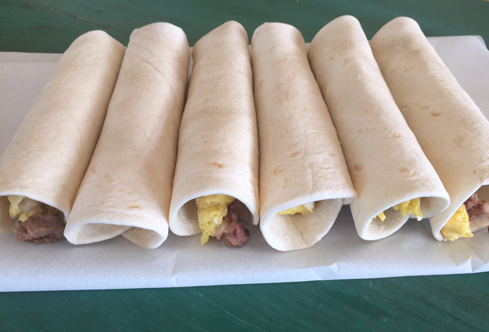 Make-Ahead Breakfast Burritos