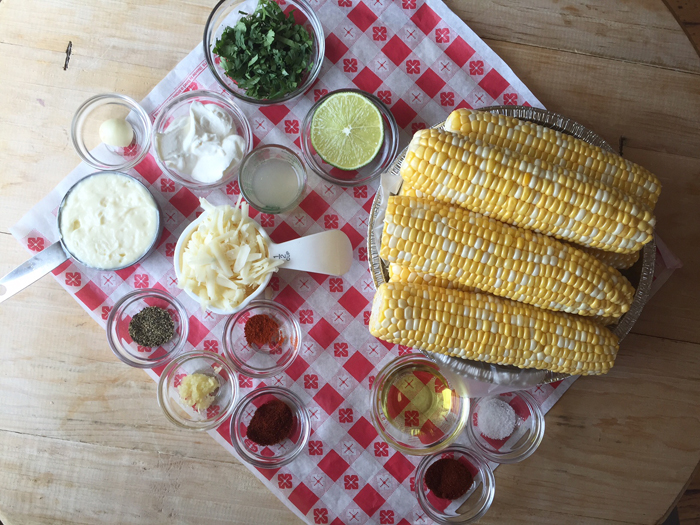 Mexican Sweet Corn Ingredients