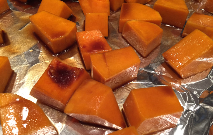 Butternut Squash Baking