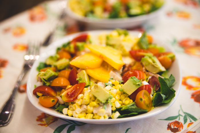 Chicken & Peach Dinner Salad with Sweet Curry Dressing.jpg