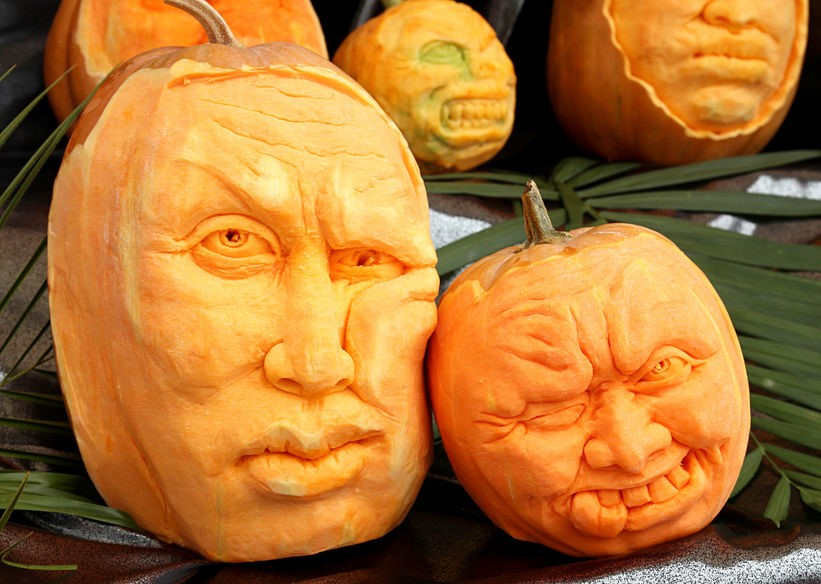 Carving pumpkin ideas from easy to complex