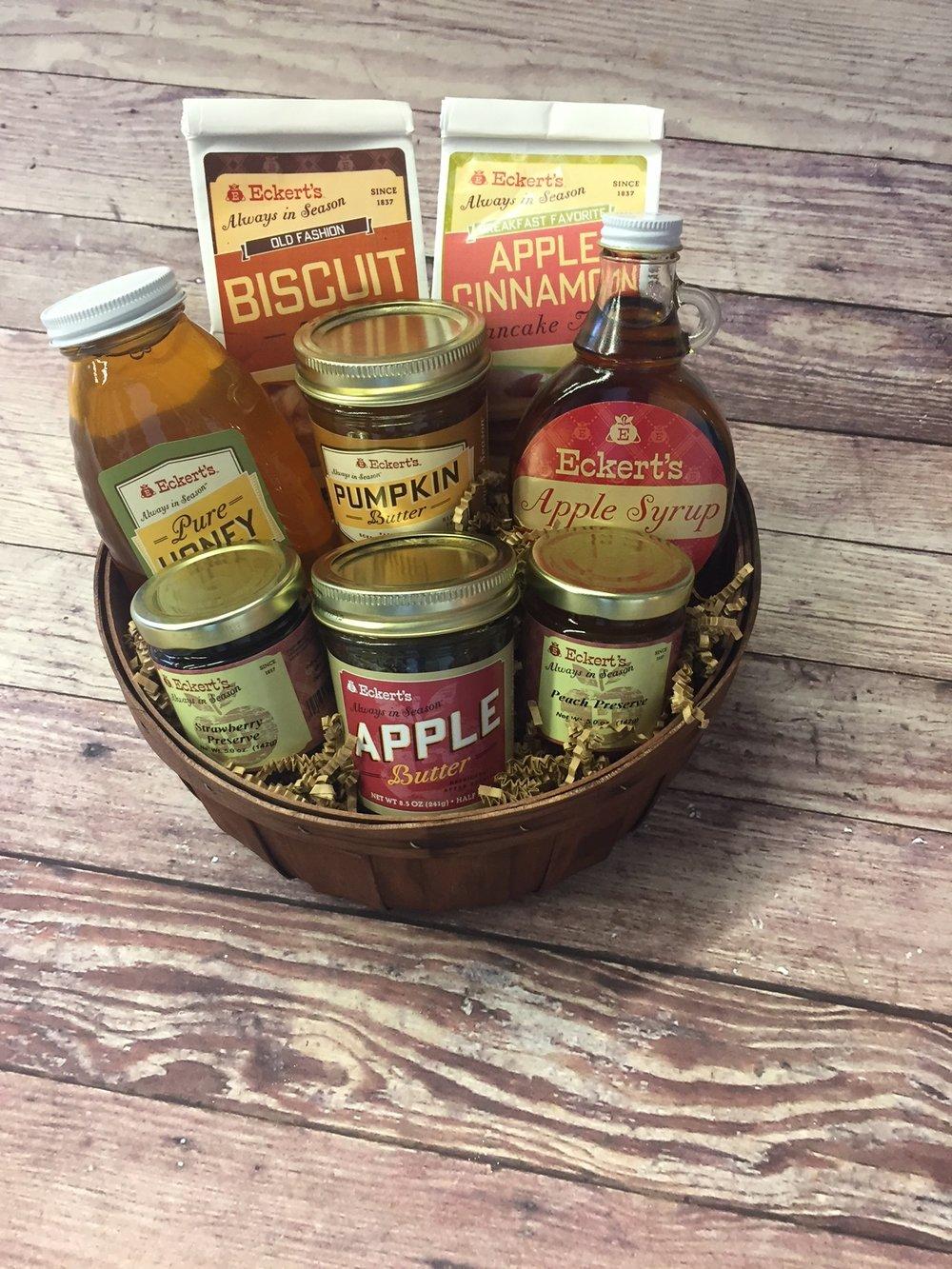 Eckert's Deluxe Breakfast Basket