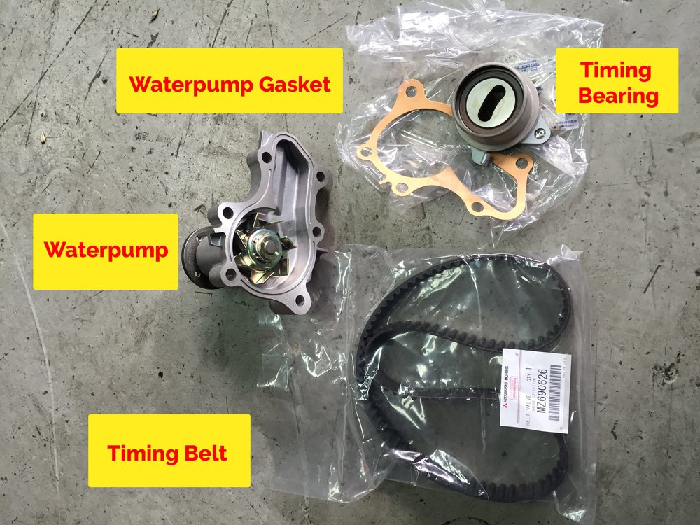 Mitsubishi Lancer Waterpump set