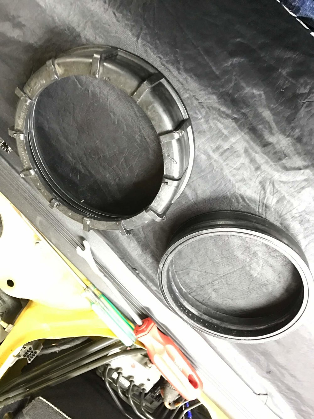 Porsche Cayman Fuel Tank Seal Repair