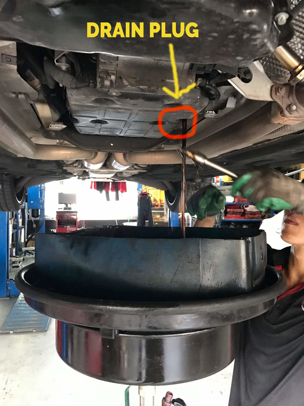 Auto Transmission Fluid (ATF) Car Servicing