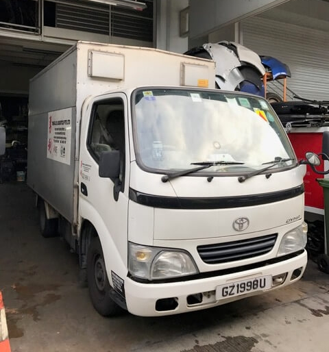 Toyota Dyna Boxed Lorry   Daily - $85   Weekly - $525  Monthly - $1450