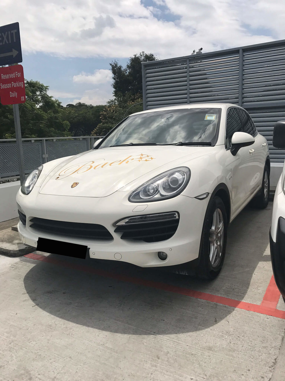 Porsche Cayenne Car Servicing, Car Body Repair & Spray Painting
