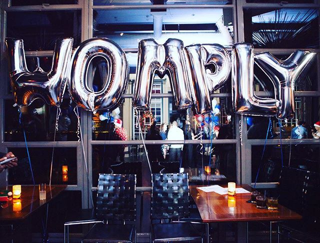 Womply holiday party 3 of 3 DONE. Thanks to everyone who made it happen! 📷: @digga_ 🎈: @airlollipops #womplyut #womplypdx #womplysf #holidayparty