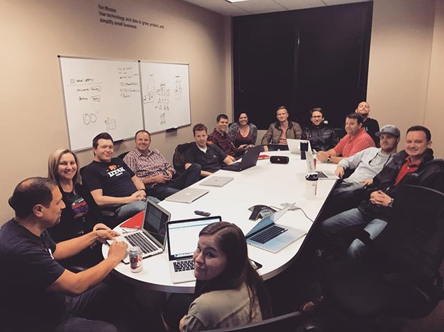 First show and tell meeting of 2017, and a packed house in Utah. #womply #wombat #womplyutah #startup #2017