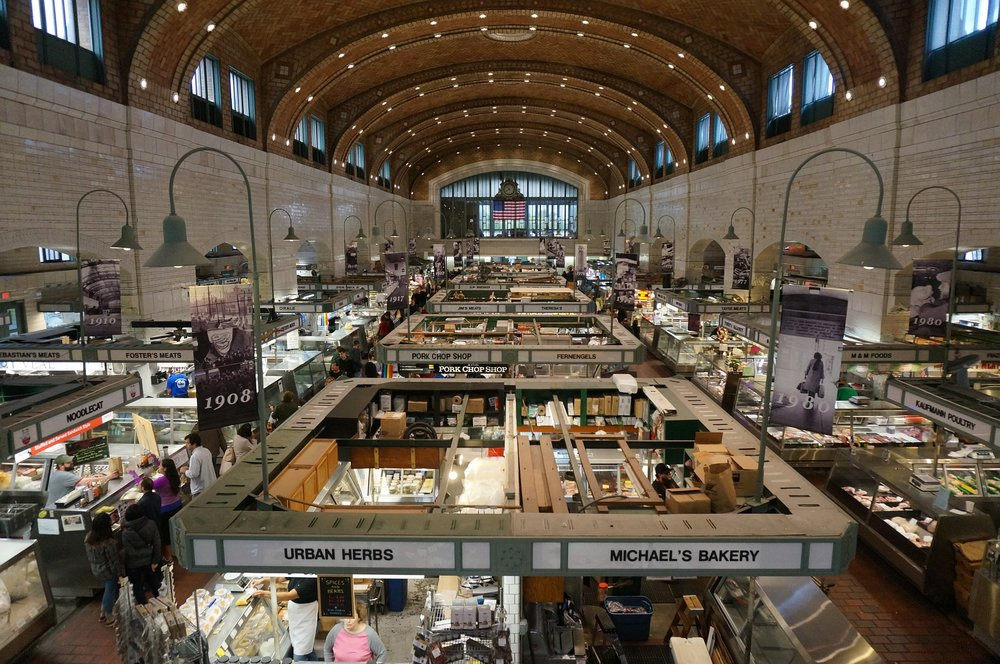 Cleveland's West Side Market. Ohio's local merchants are hoping 2017 is a banner year for small business.