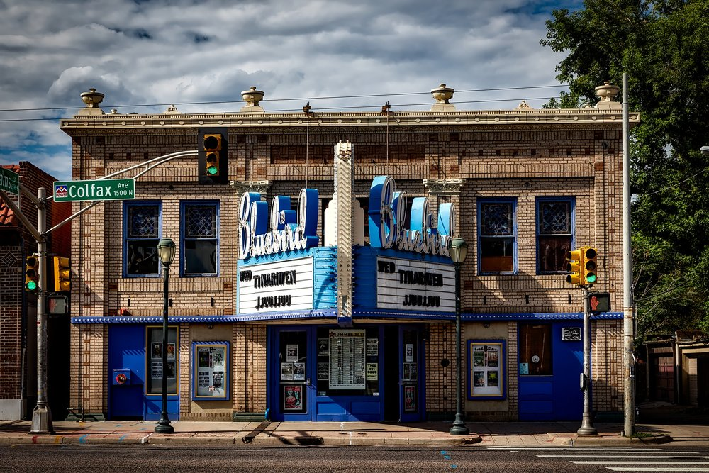 The Bluebird Theater has been an institution in Denver for a century. Colorado's 572,000 small businesses are responsible for 1 million jobs.