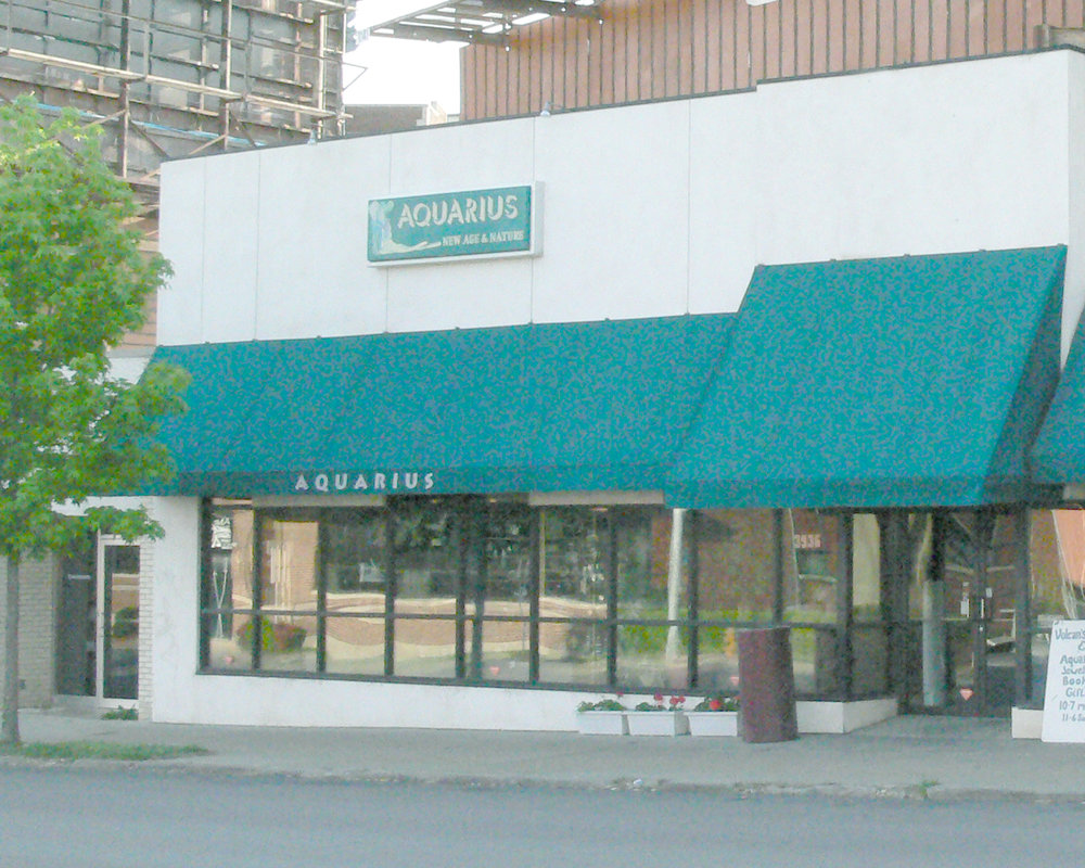 Aquarius has been a steady local business in midtown Kansas City, Missouri, since 1989.