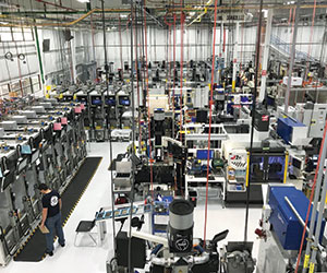 The recently opened GE Brilliant Factory in Muskegon is an example of West Michigan businesses requiring a more skilled workforce for advanced manufacturing. (Courtesy GE.)