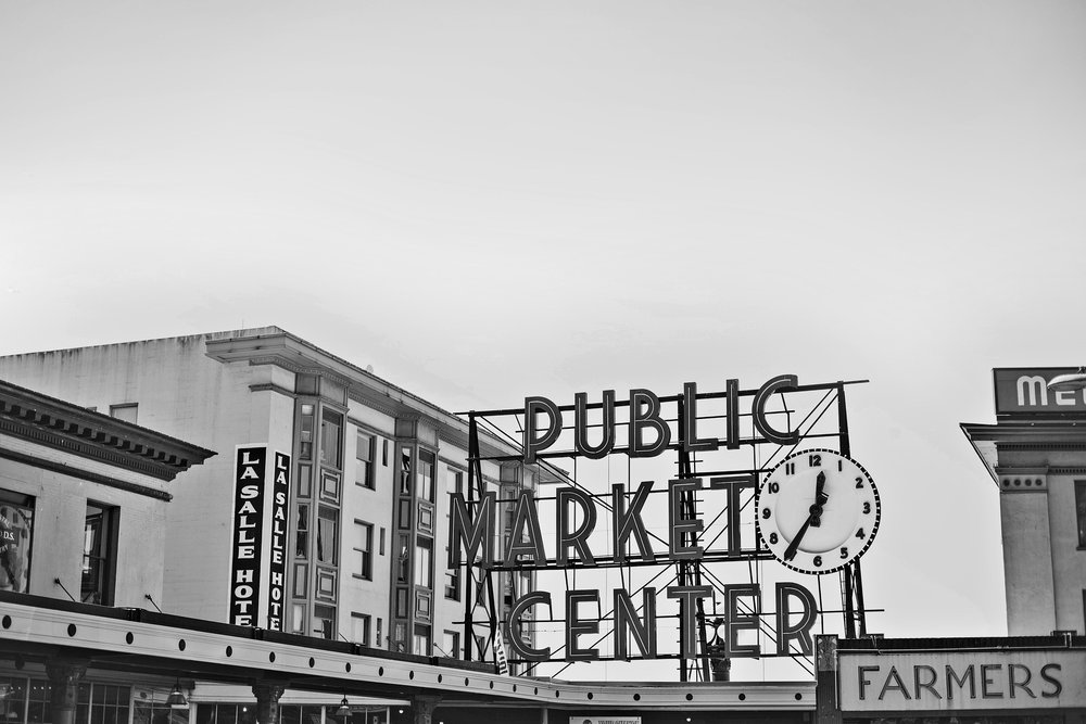 The famous Pike's Place seafood market in Seattle. Washington small business owners are feeling good, but business regulations are a cause for concern.