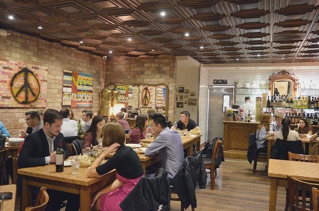 Located at 332 Broadway, Maccheroni Republic makes fresh artisan pasta daily from organic flour and semolina.