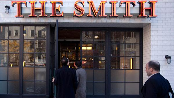 The Smith's five locations in Manhattan and Washington, D.C. serve over 1 million guests each year.