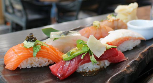 "Sushi Roku aims to apply ""a splash of California innovation"" in delivering a hip sushi experience to Las Vegas diners."