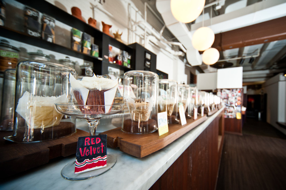 Baked & Wired offers small-batched baked good and hand-crafted espressos to patrons in Washington D.C.'s trendy Georgetown neighborhood.