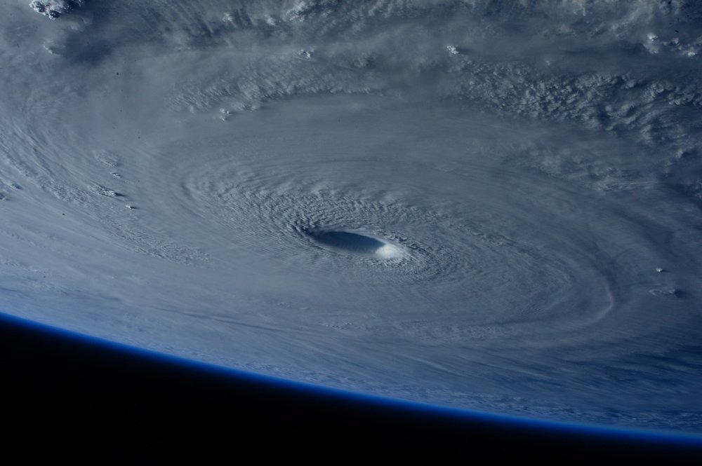 As you'd expect, hurricanes have a big impact on small business revenue in the short term.