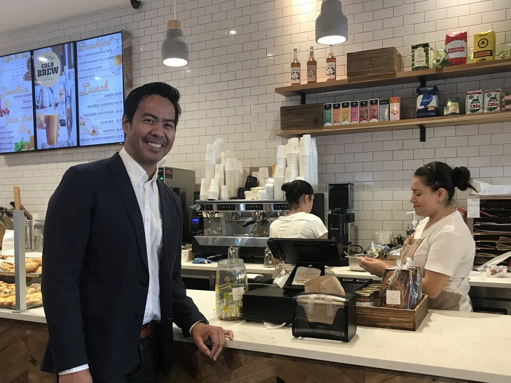 Archie Bengzon is on a mission to help local eateries and food businesses in New Jersey and New York serve up better business results.