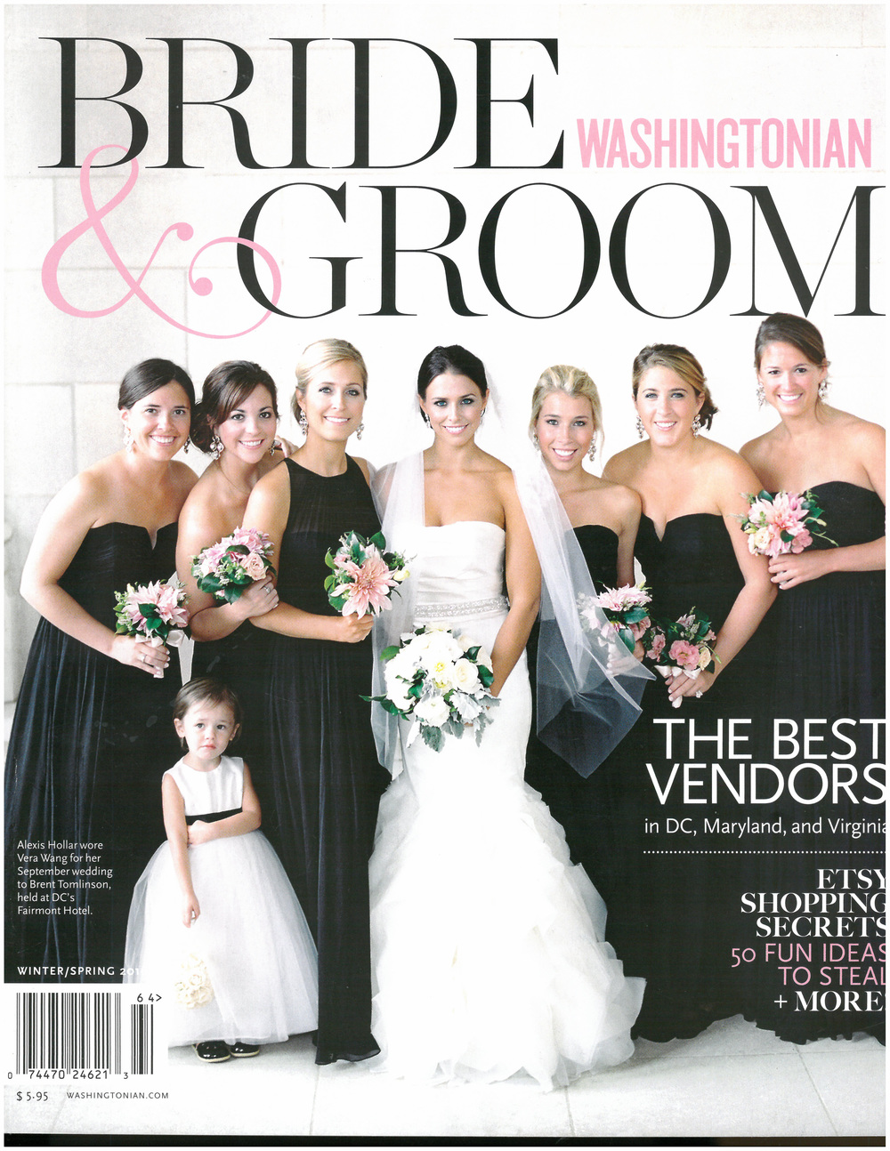 Washingtonian Bride & Groom Cover Winter : Spring 2016.jpg