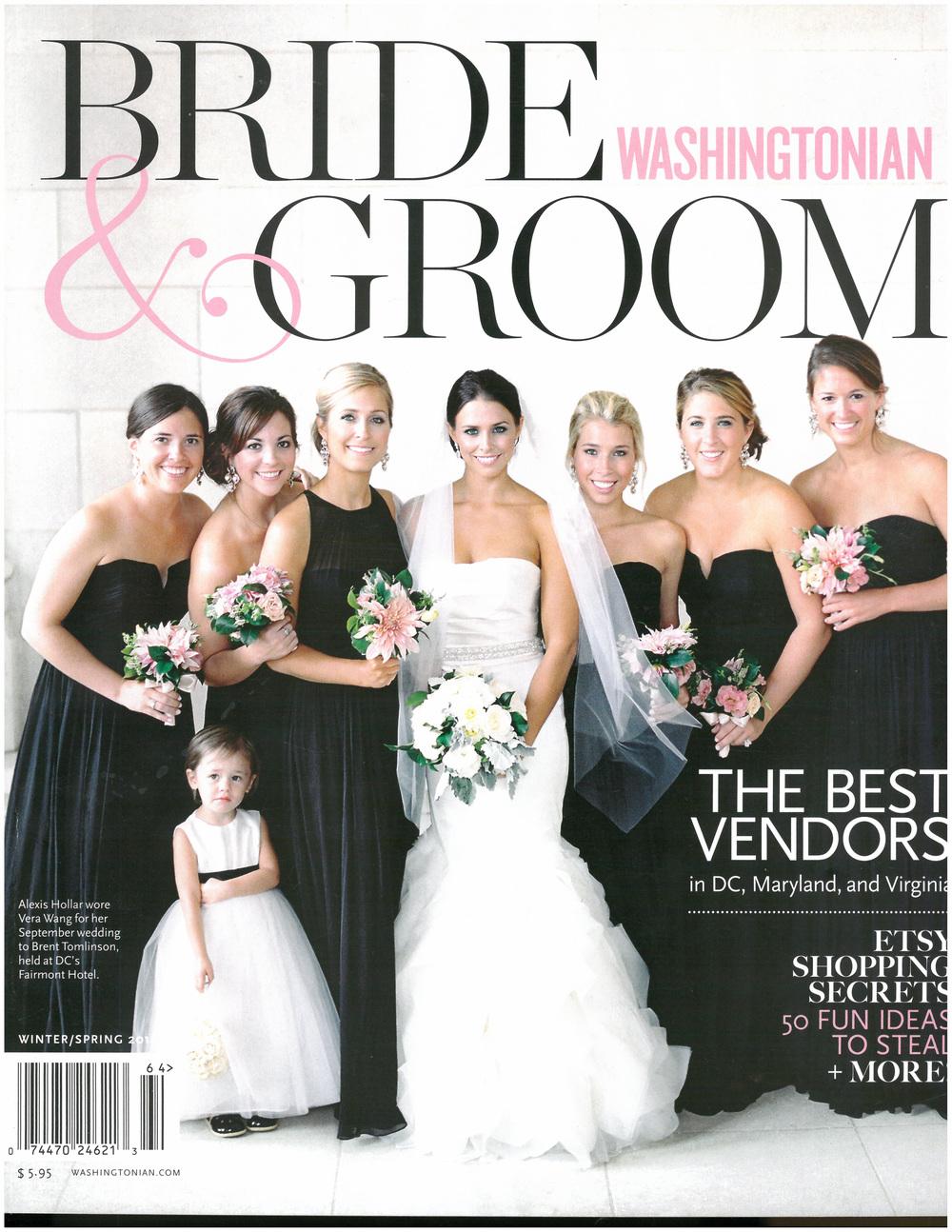 Washingtonian Bride & Groom Cover Winter : Spring 2016.jpg