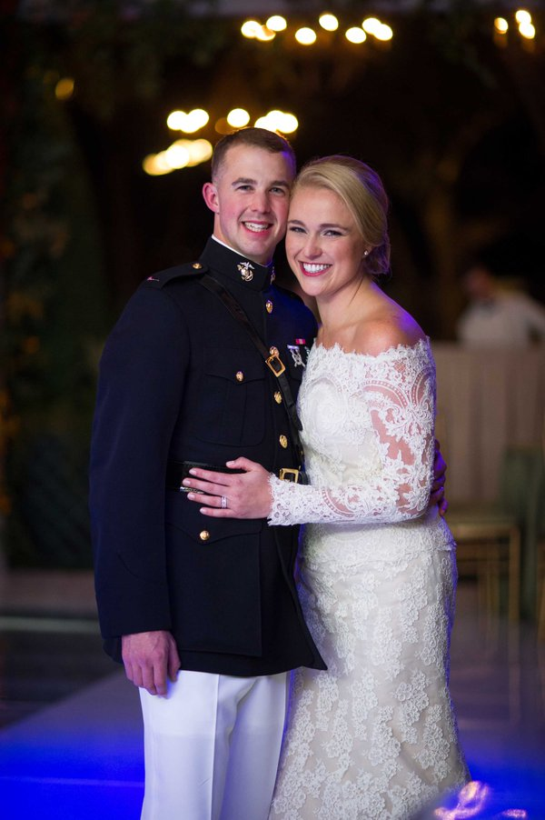 Beautiful Isabelle Armstrong bride. Congrats to the newlyweds! Thanks for the mention Inside Weddings (Chris Bailey Photography)
