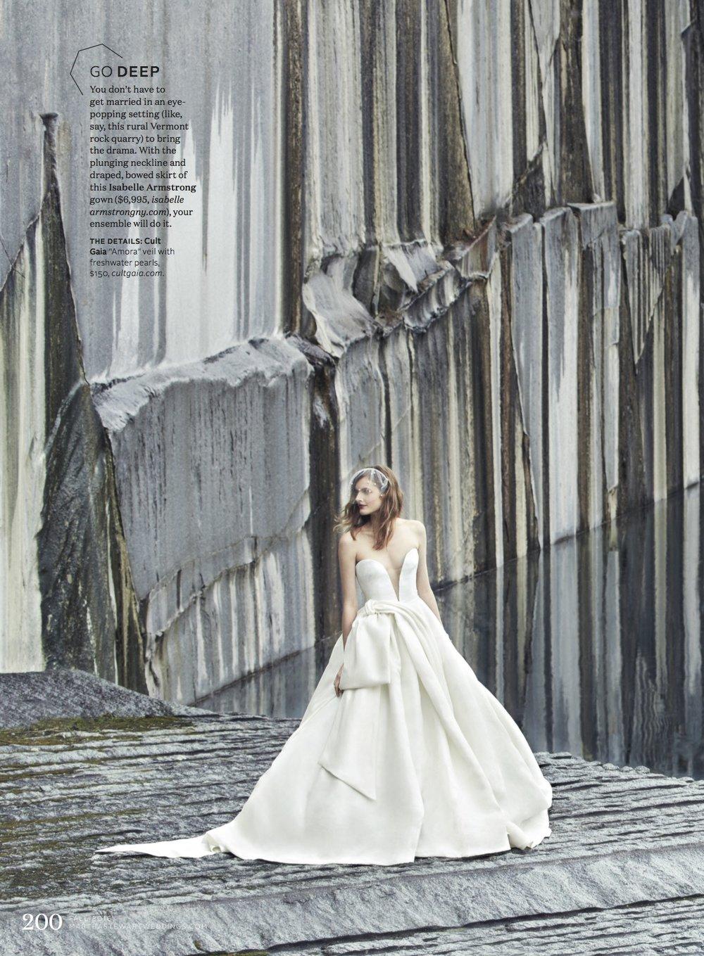 Martha Stewart Weddings Fall 2016