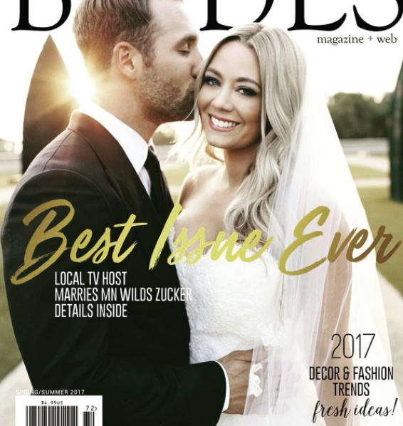 Central Minnesota Brides, Spring Summer 2017 Cover
