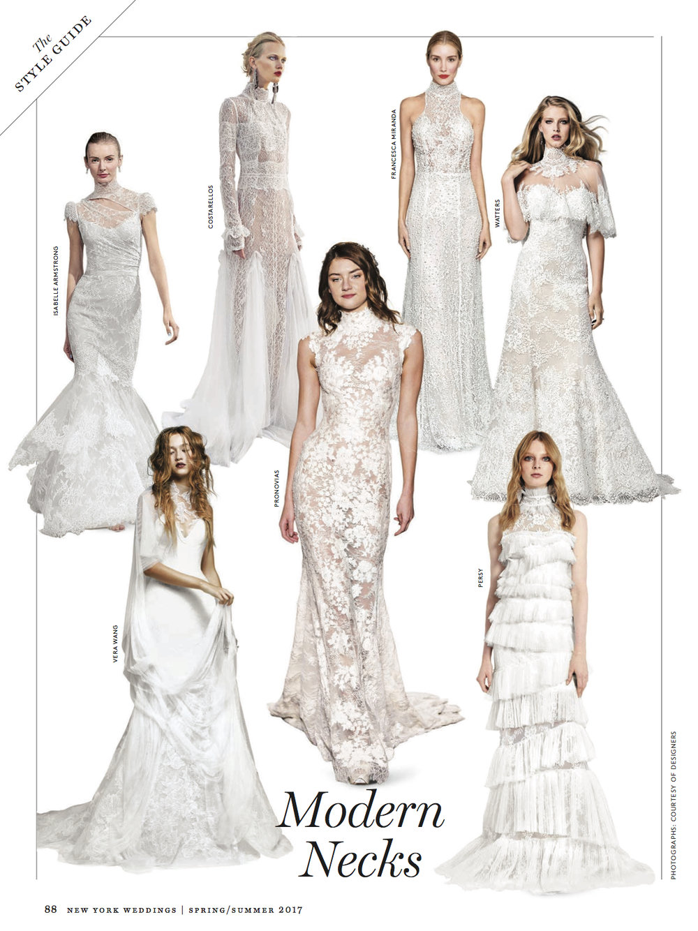 NY Weddings ~ Spring 2017 ~ Trend Report