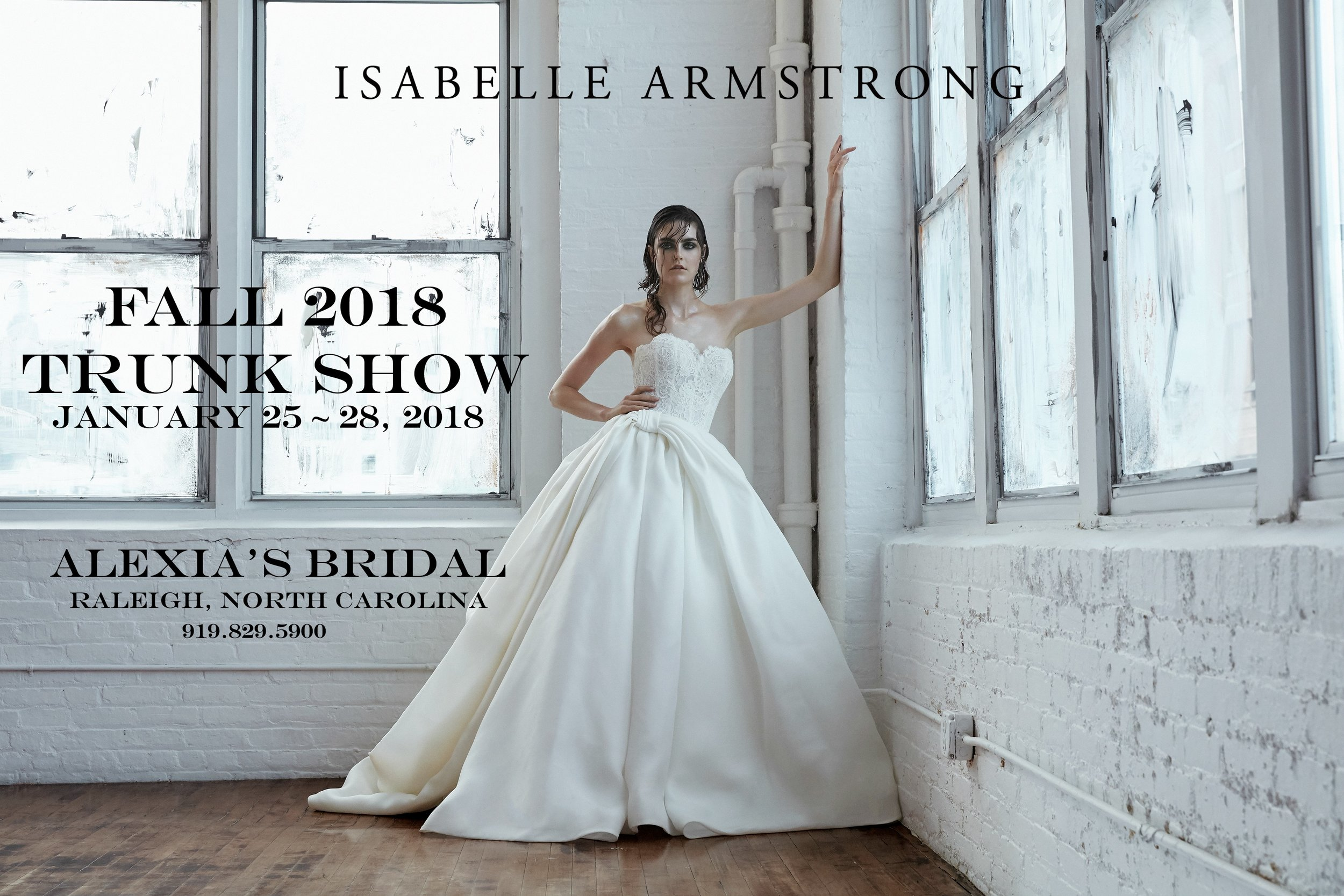 Trunk Shows — Isabelle Armstrong