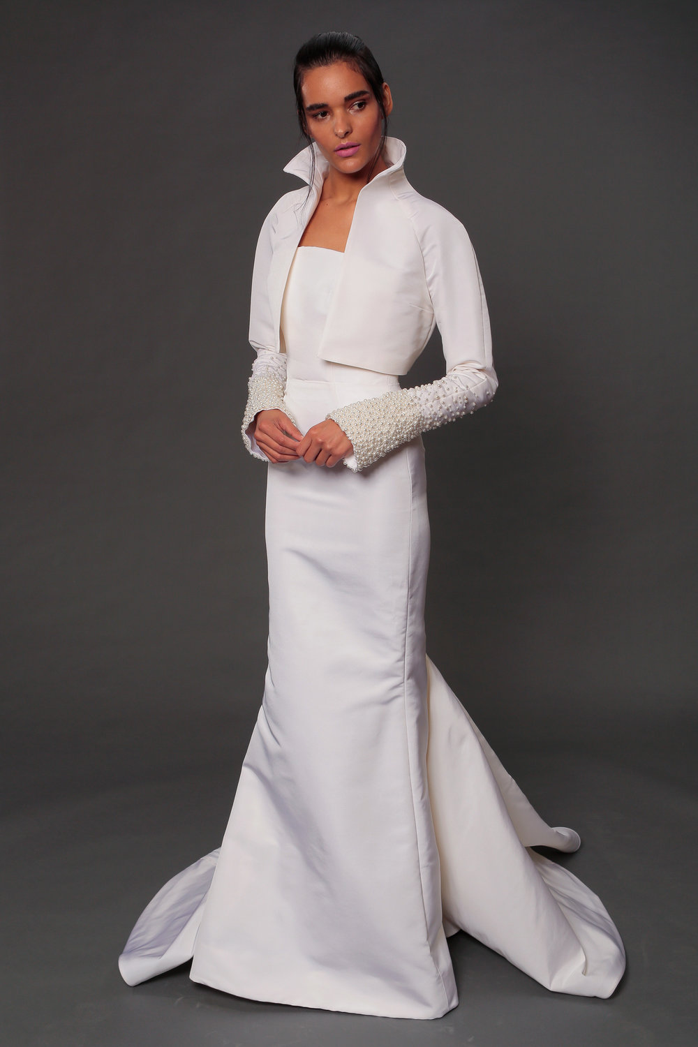 Look #5 ~ Camille Jacket & Diana Gown