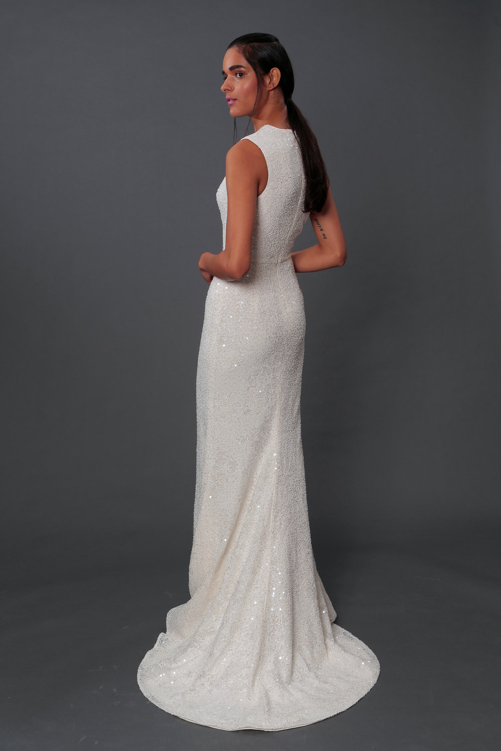 Look #8 ~ Genevieve Gown Back