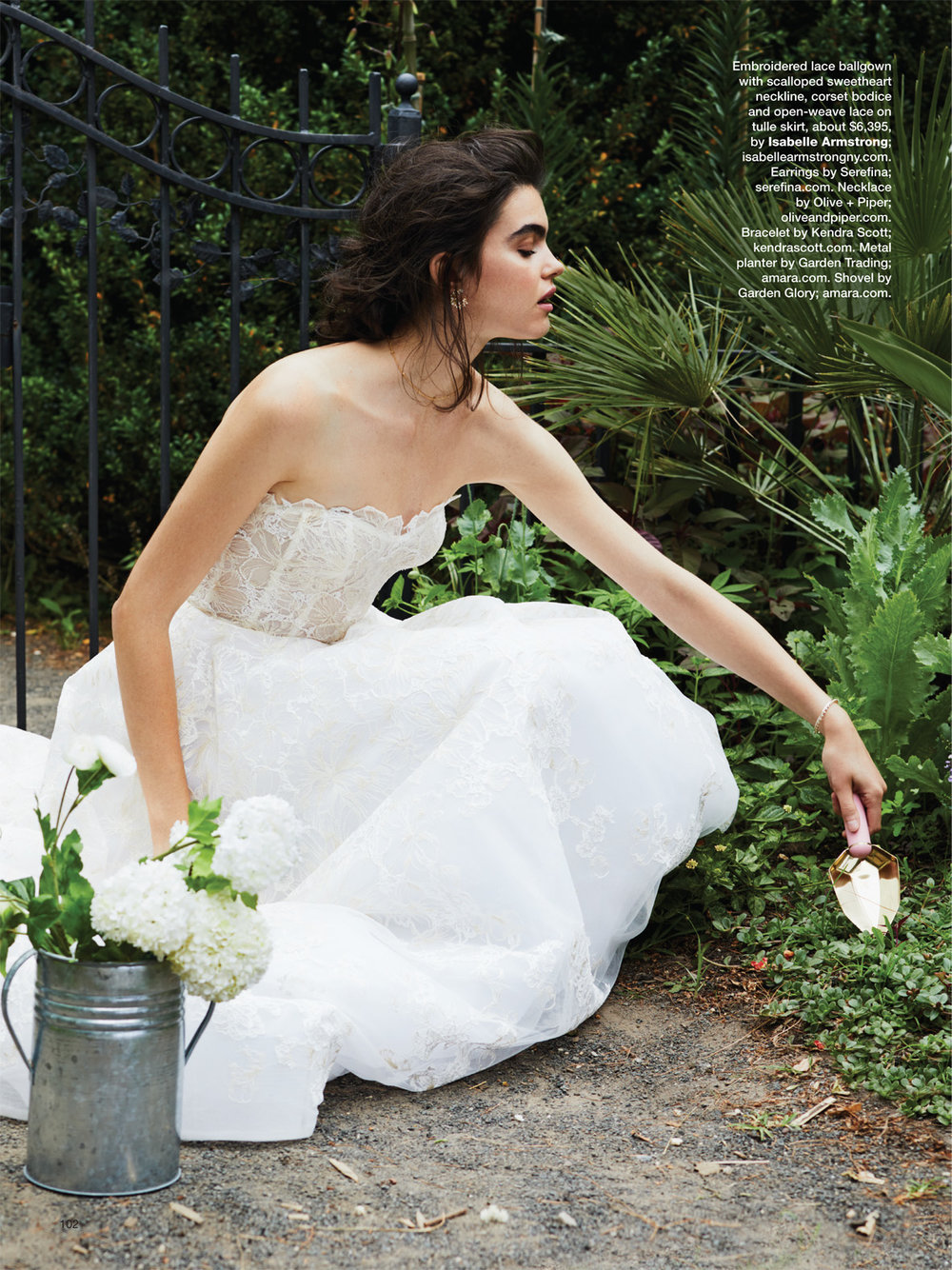 Bridal Guide Magazine - Isabelle Armstrong in the November issue!