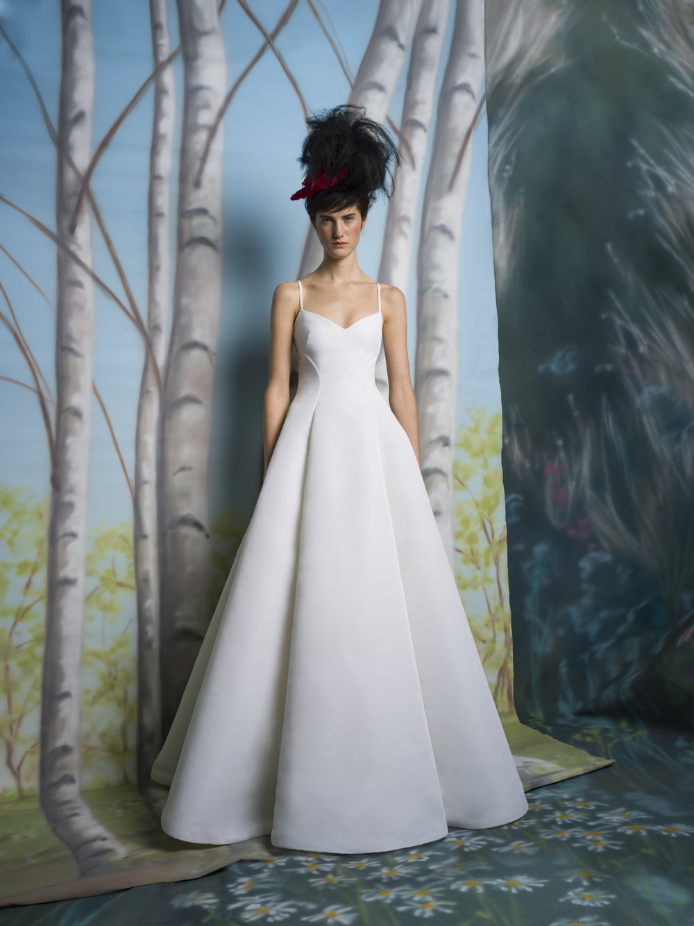 REGINA Structured Faille Ball Gown ~ Spring 2019 Collection