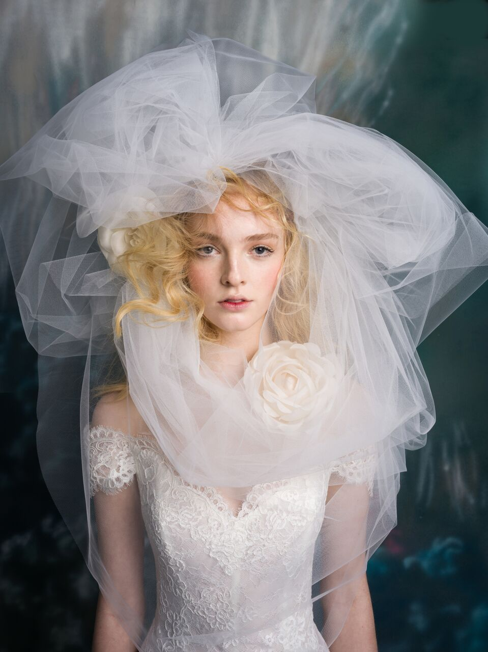 """Are you wild at heart? - """"For Isabelle Armstrong's Spring 2019 shoot, I played with the idea of a fantasy garden and made the hair-do's larger than life with beautiful, unexpected accessories that added the nuance of color, sculpted shapes, and wild untamed textures."""" - Felix Fischer, Celebrity Hairstylist"""