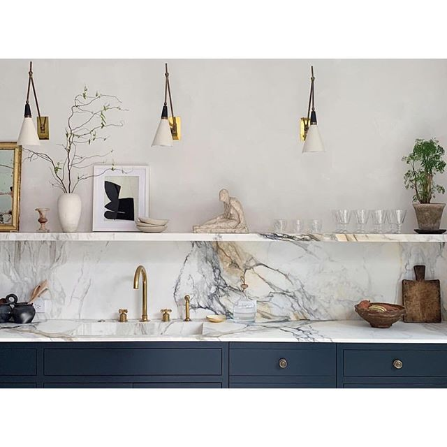 Kitchen inspiration from the home of @eyeswoon founder Athena Calderone #kitchendesign #eyeswoon #interiors