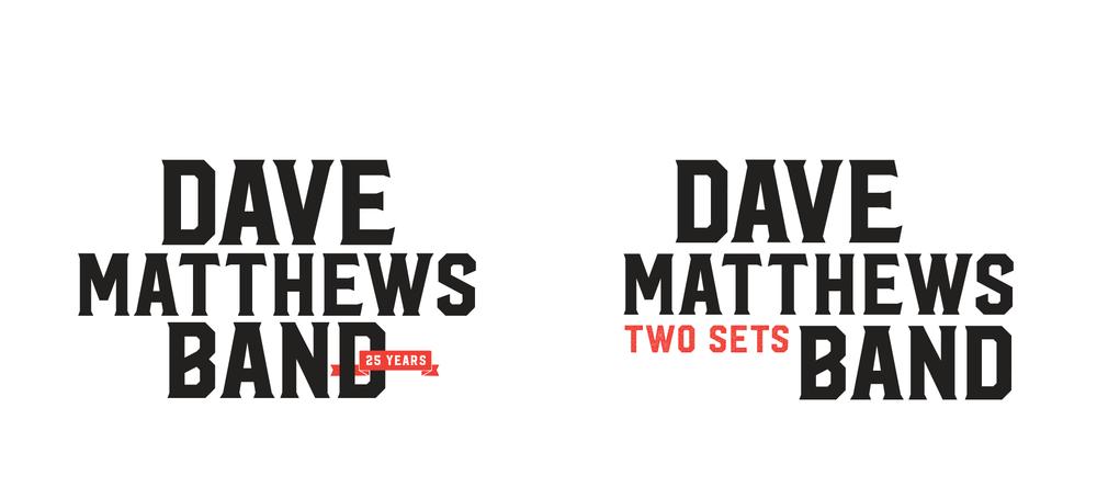 Dave Matthews Band Branding Design Wyndsor Hug Branding Design
